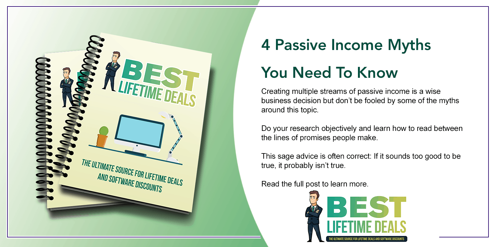 4 Passive Income Myths You Need To Know Featured Image.