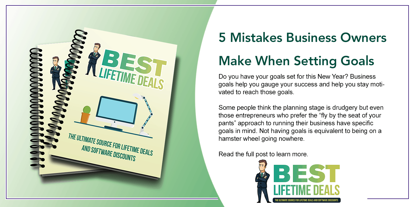 5 Mistakes Business Owners Make When Setting Goals Featured Image