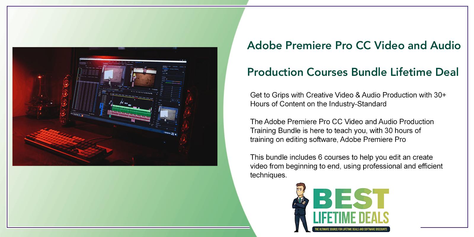 Adobe Premiere Pro CC Masterclass Video Editing Featured Image