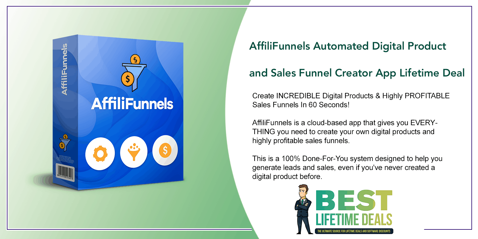AffiliFunnels PRO Automated Digital Product and Sales Funnel Creator App Featured Image