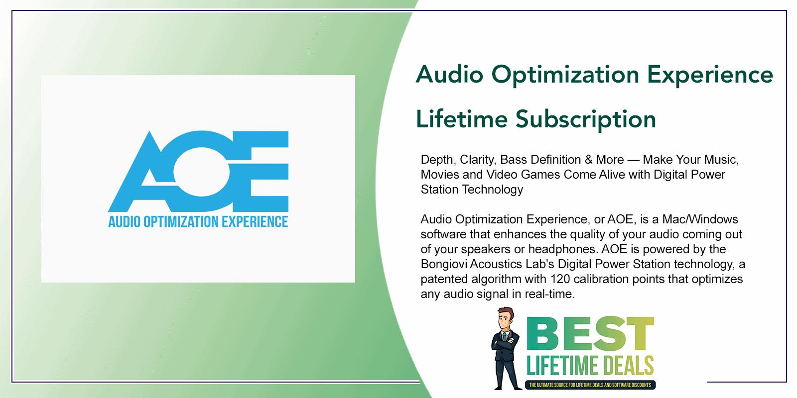 Audio Optimization Experience Featured Image
