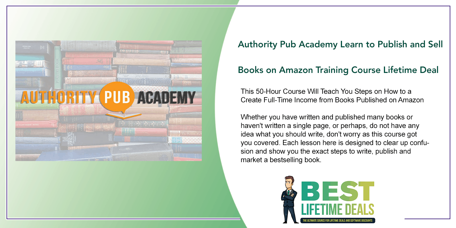 Authority Pub Academy Learn to Publish and Sell