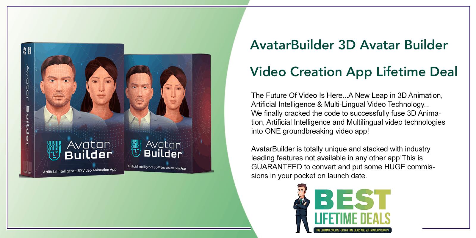 AvatarBuilder 3D Avatar Builder Video Creation App Featured Image