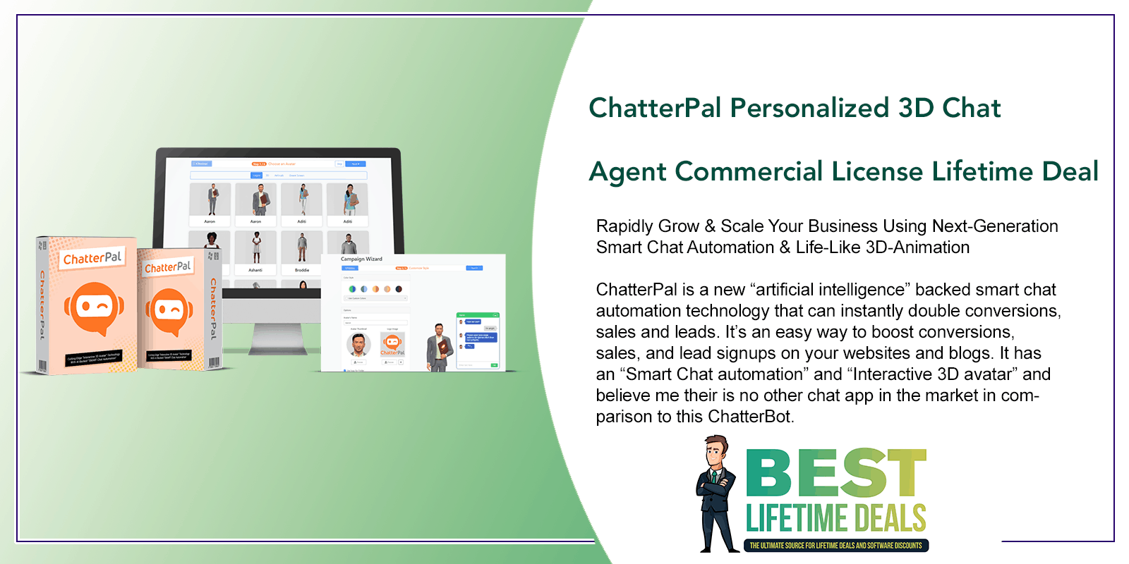 ChatterPal Personalized 3D Chat Agent Featured Image