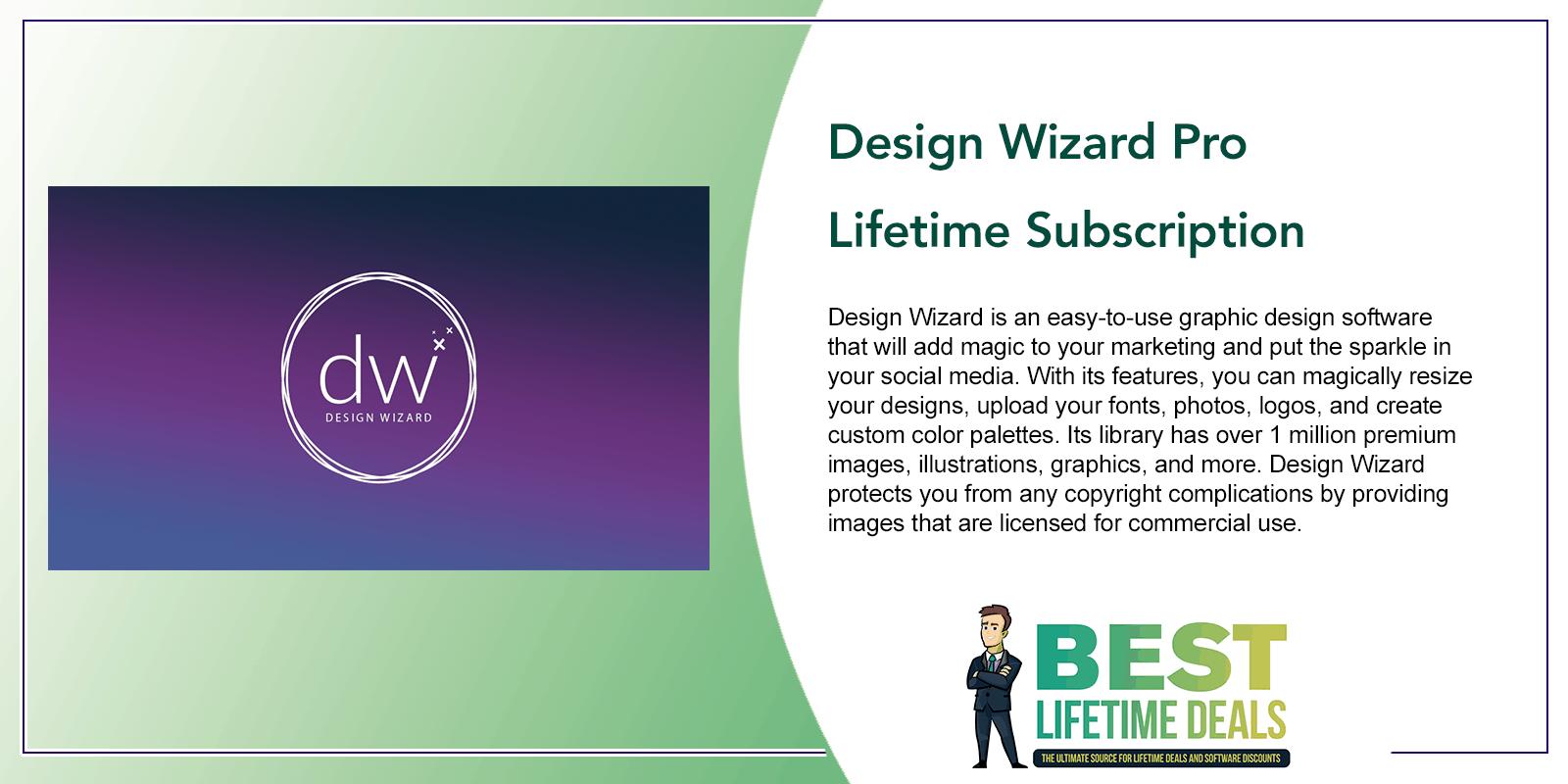 Design Wizard Pro Lifetime Subscription Post Image
