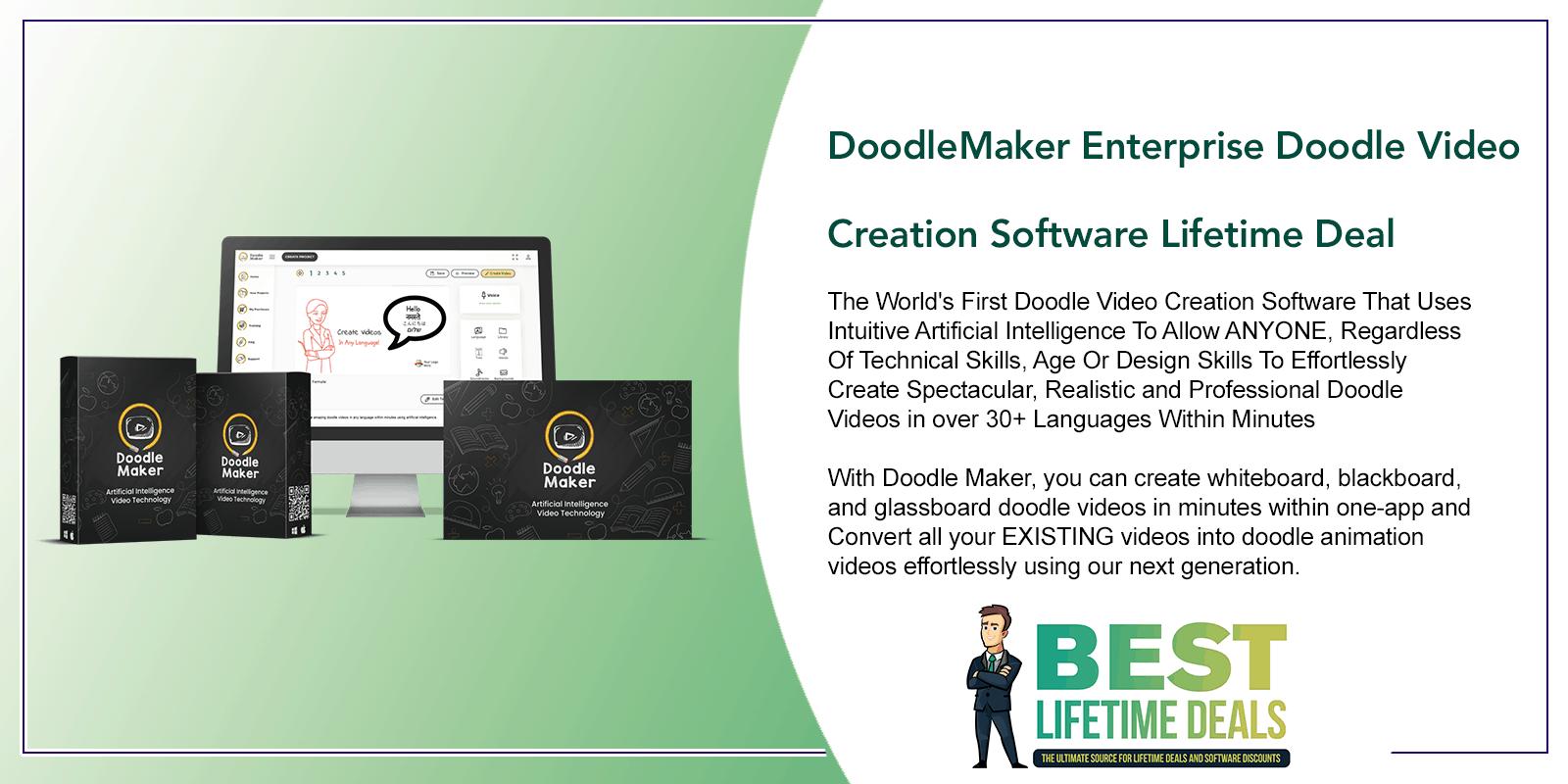 DoodleMaker Enterprise Doodle Video Creation Software Featured Image