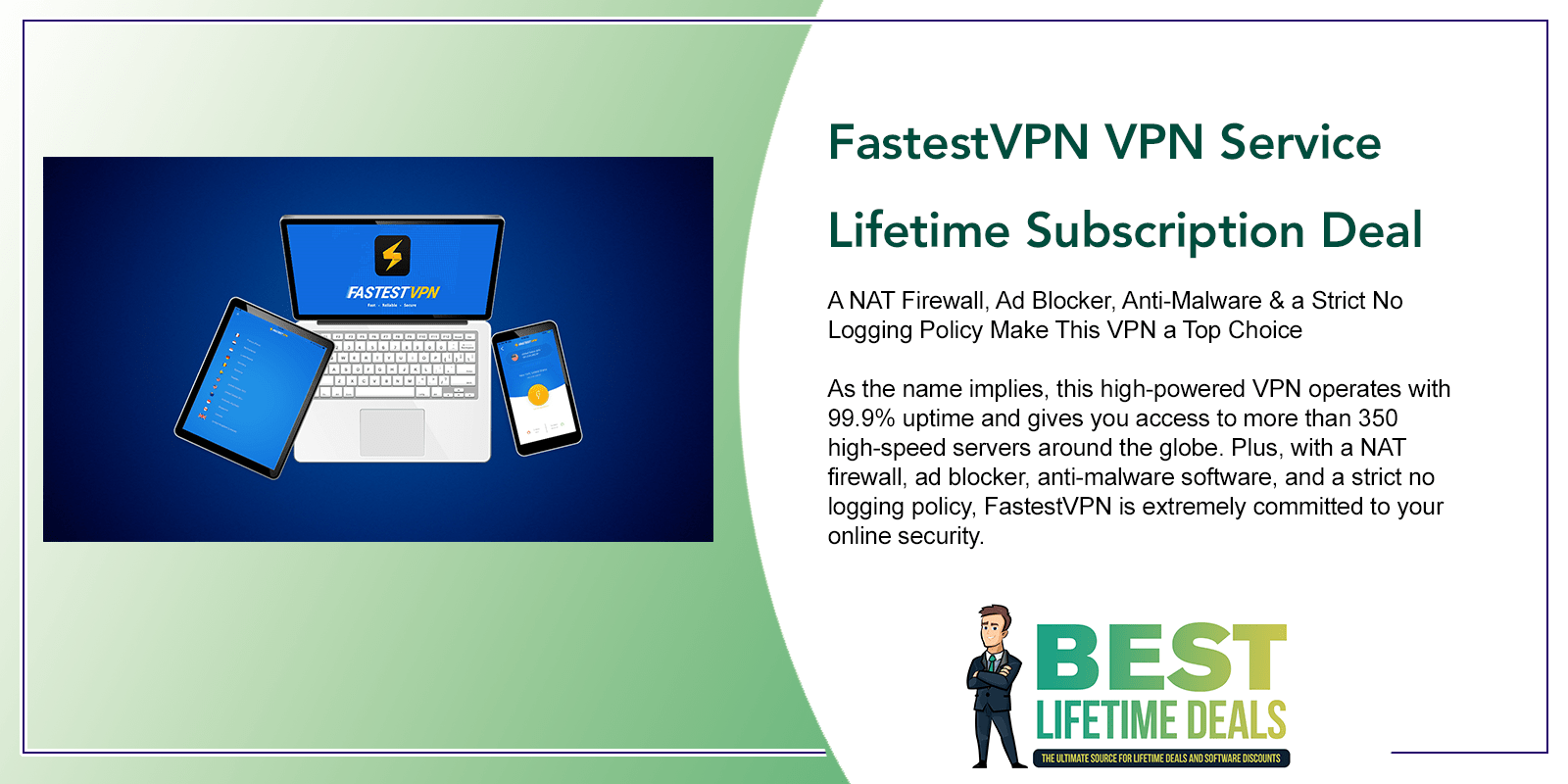 FastestVPN VPN Service Featured Image