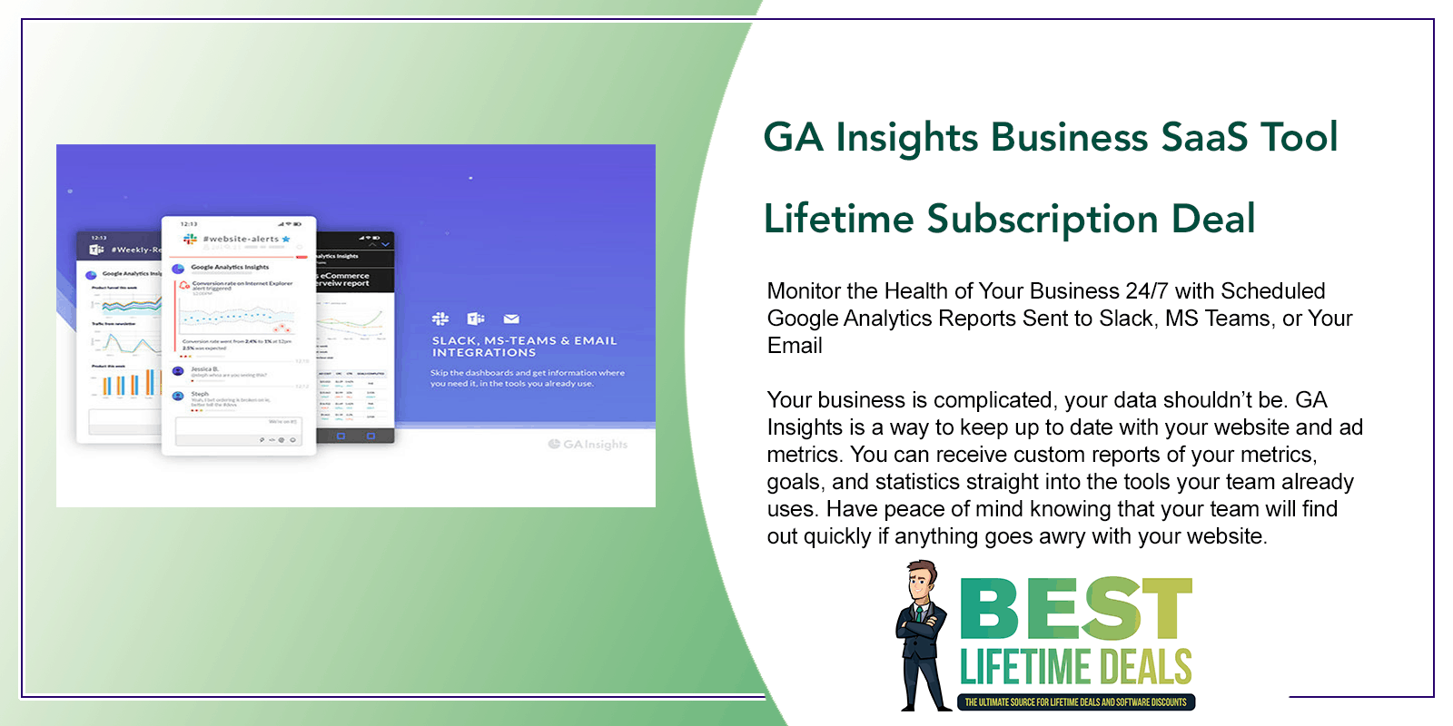 GA Insights Business SaaS Tool Featured Image
