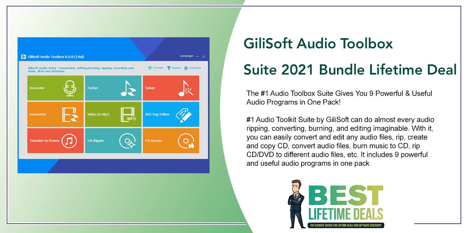 GiliSoft Audio Toolbox Suite Featured Image