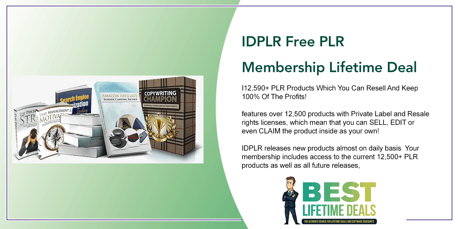 IDPLR Free PLR Membership Featured Image