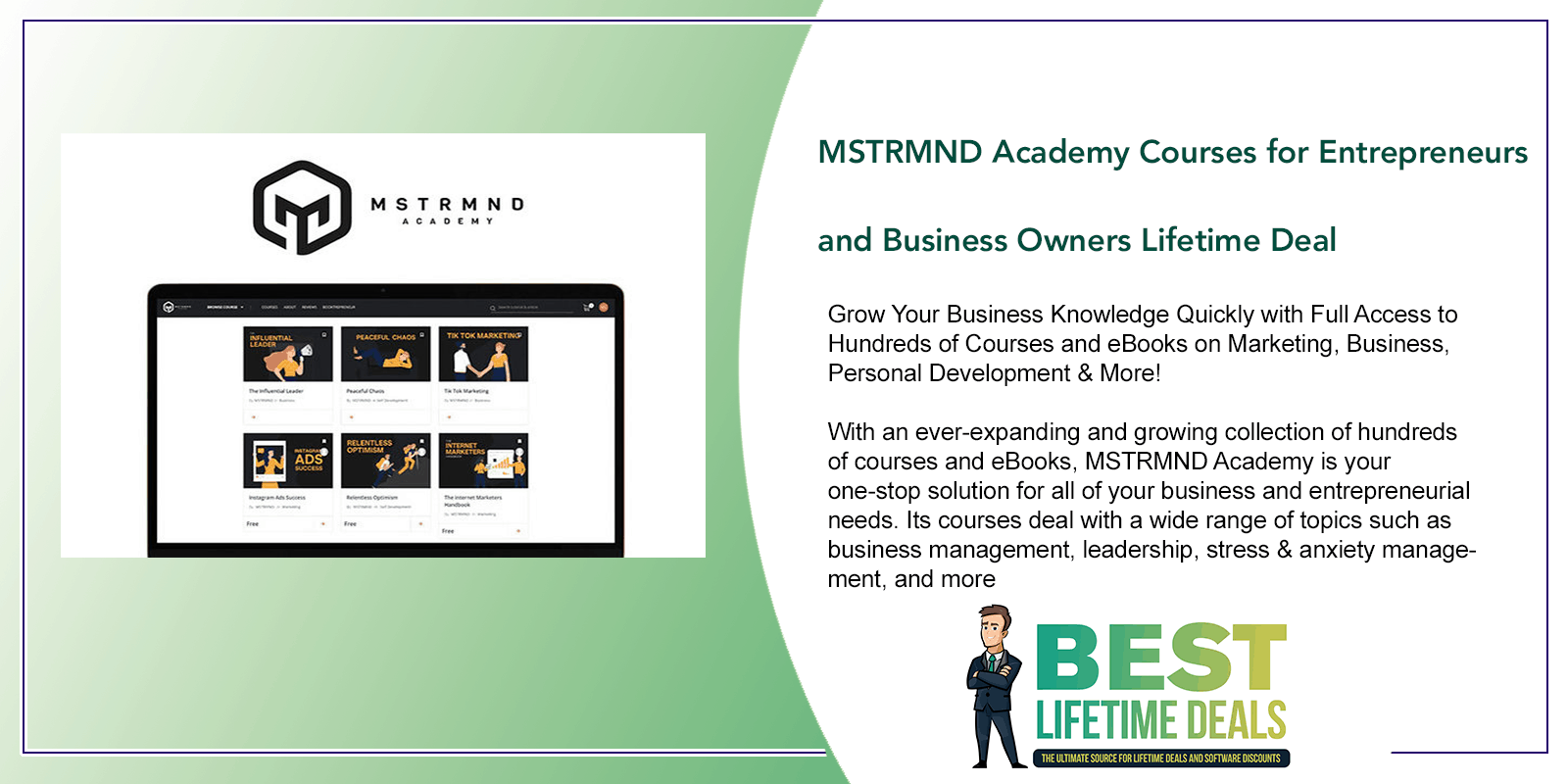MSTRMND Academy Courses for Entrepreneurs Featured Image