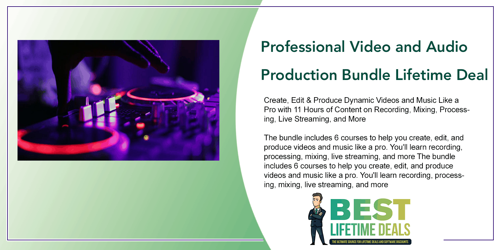 Professional Video and Audio Production Featured Image