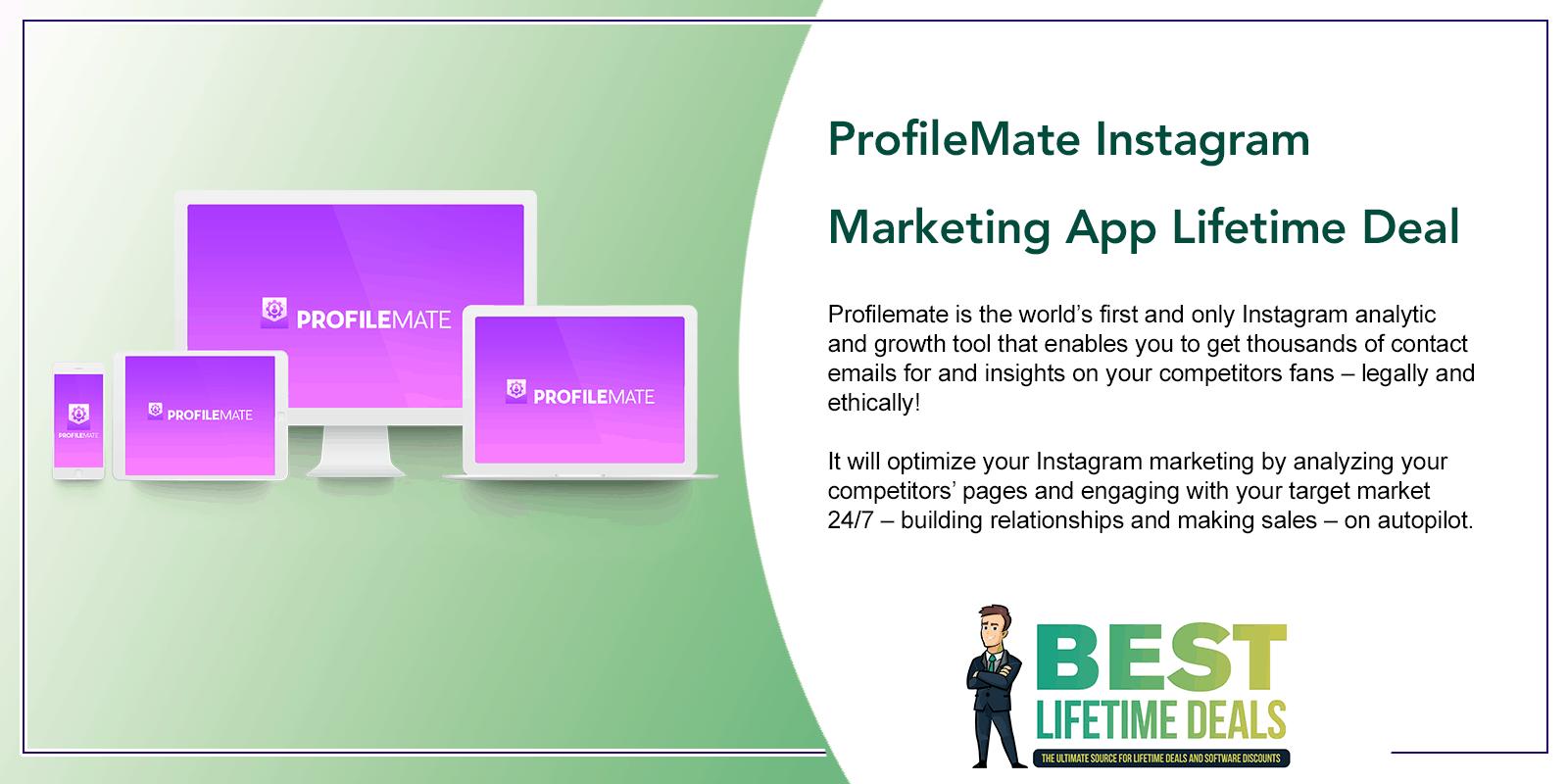 ProfileMate Instagram Marketing App Featured Image
