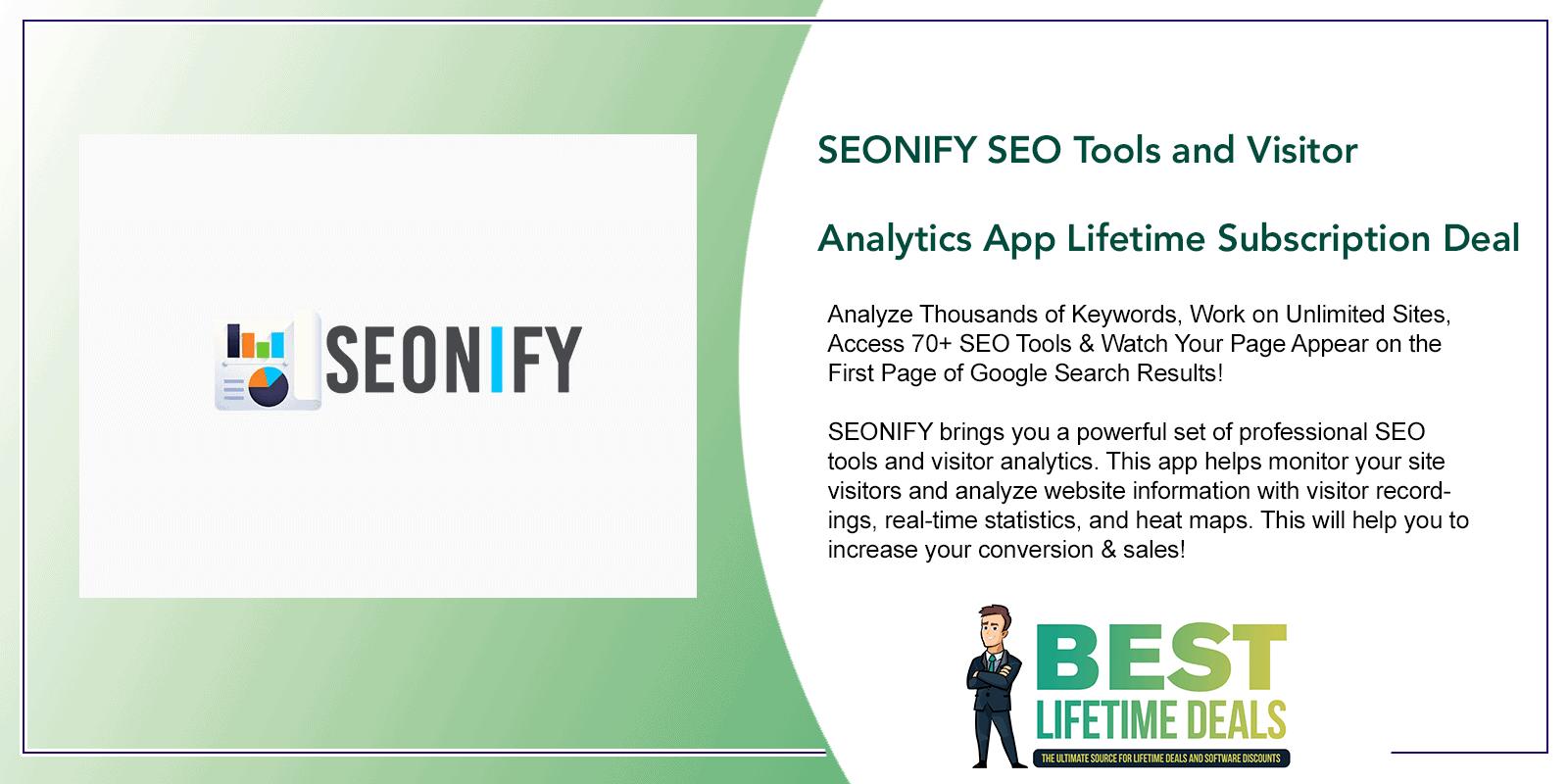SEONIFY SEO Tools Featured Image