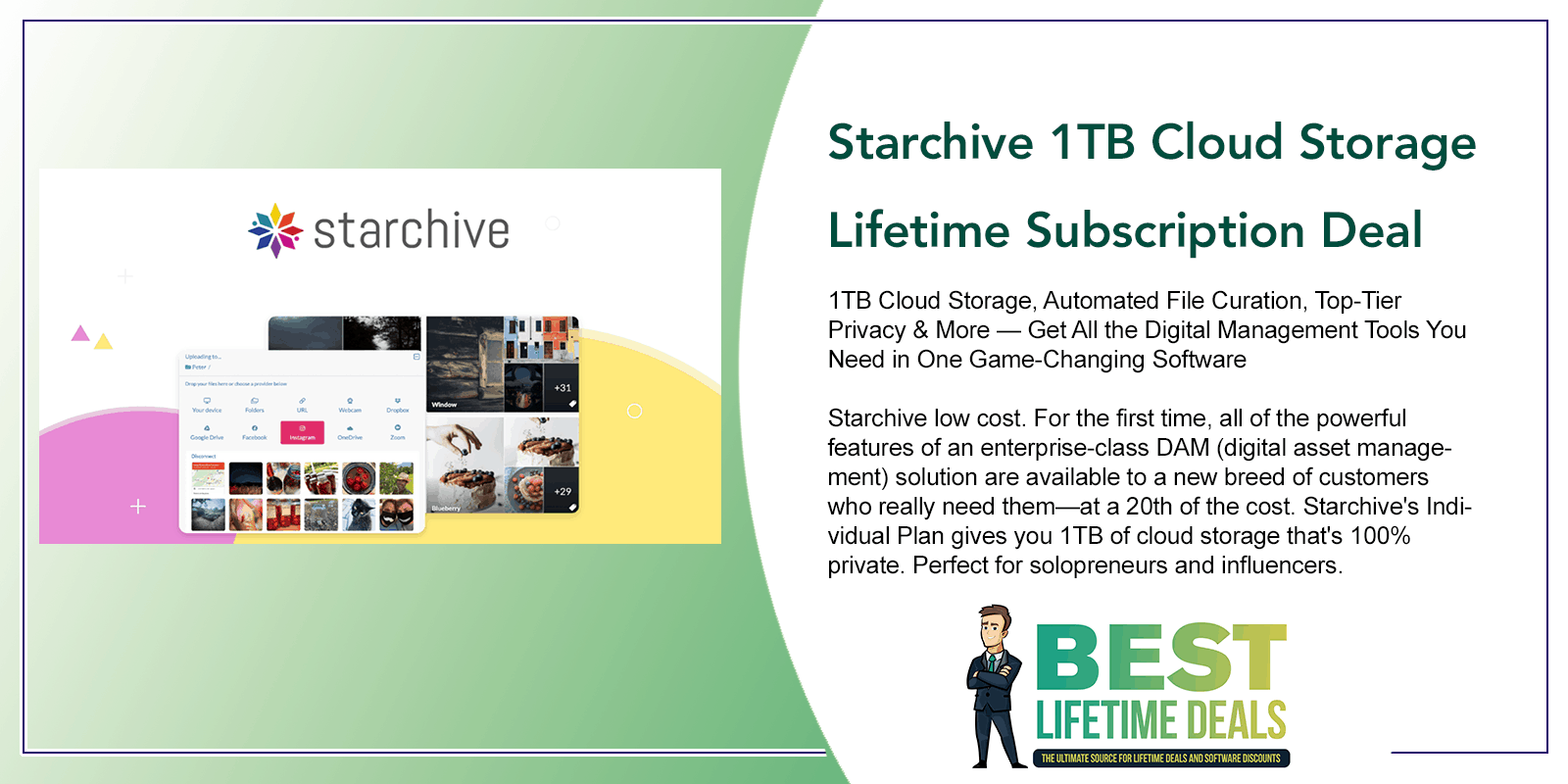 Starchive 1TB Cloud Storage Featured Image