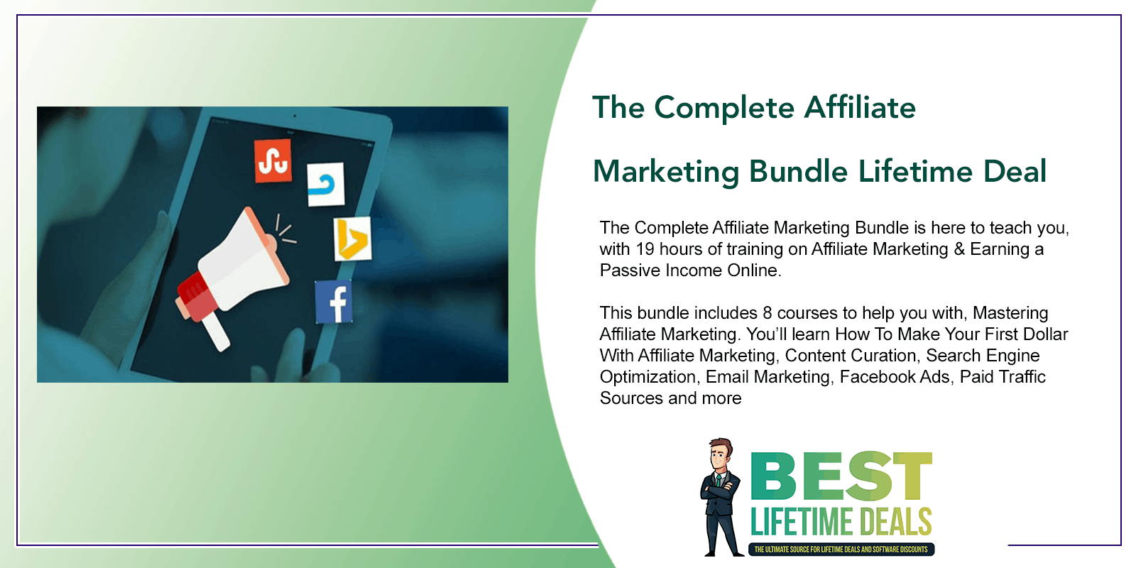 The Complete Affiliate Marketing Bundle Lifetime Deal Featured Image