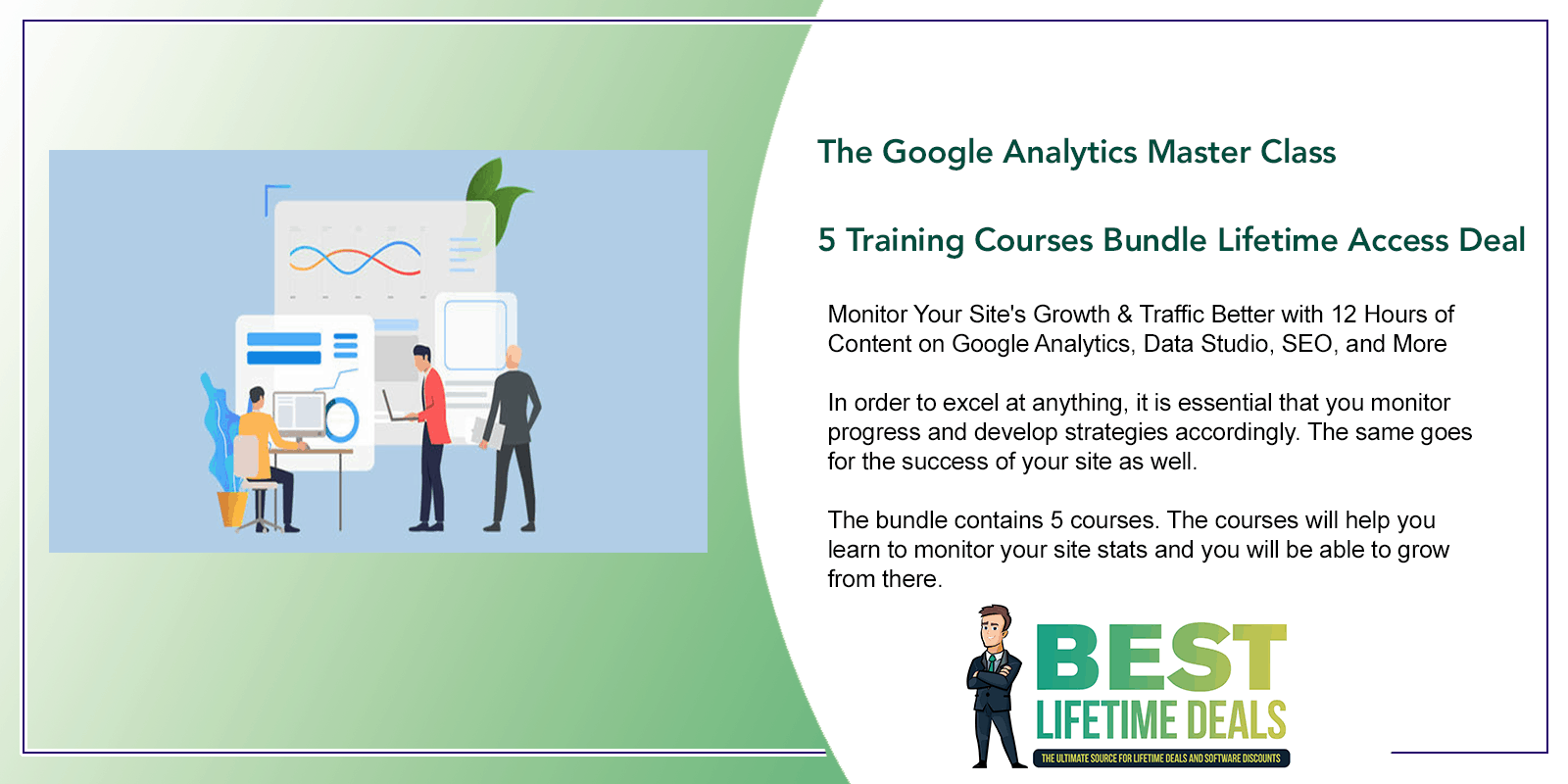 The Google Analytics Master Class 5 Training Courses Bundle Featured Image
