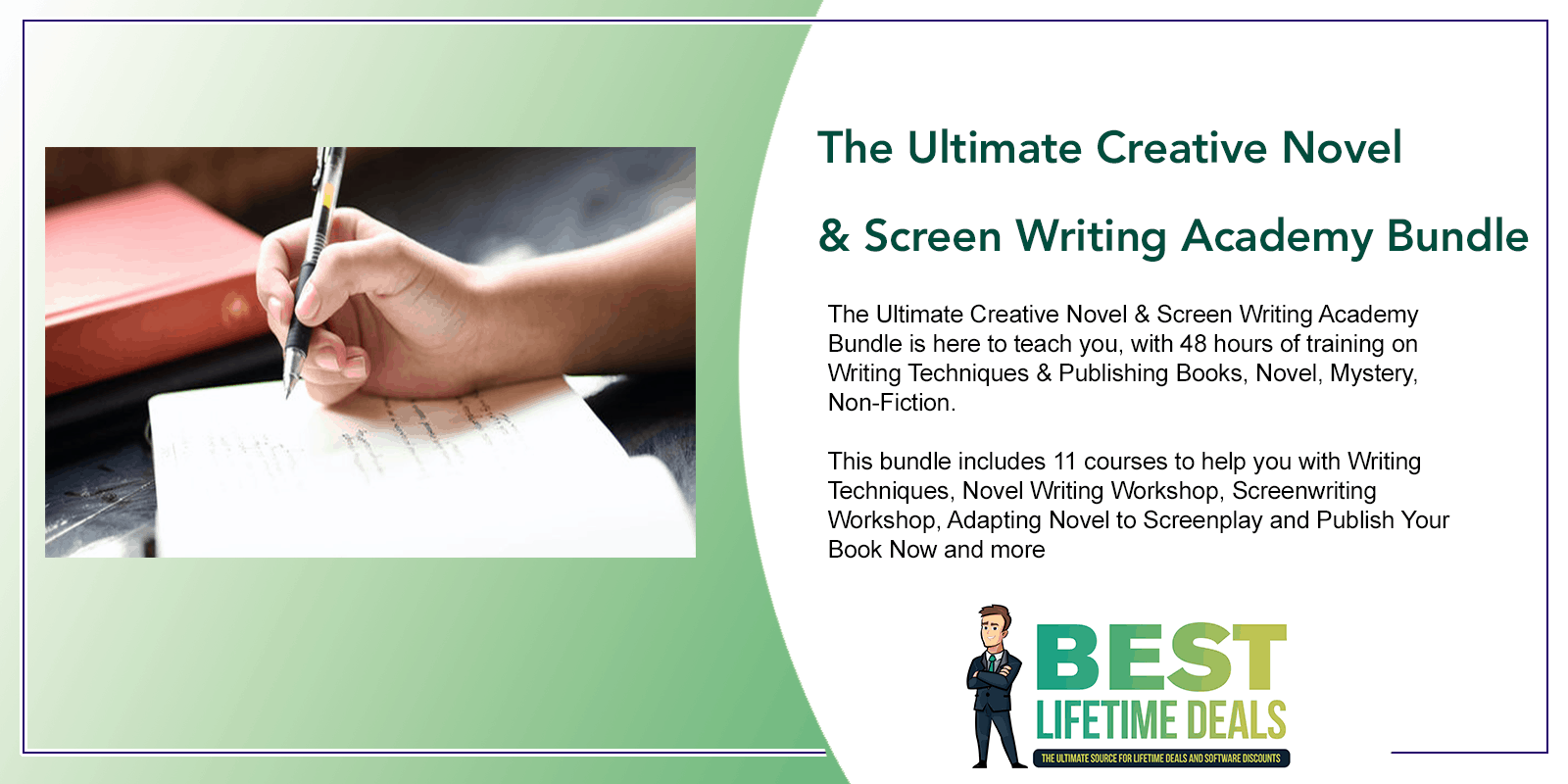 The Ultimate Creative Novel Screen Writing Academy Featured Image