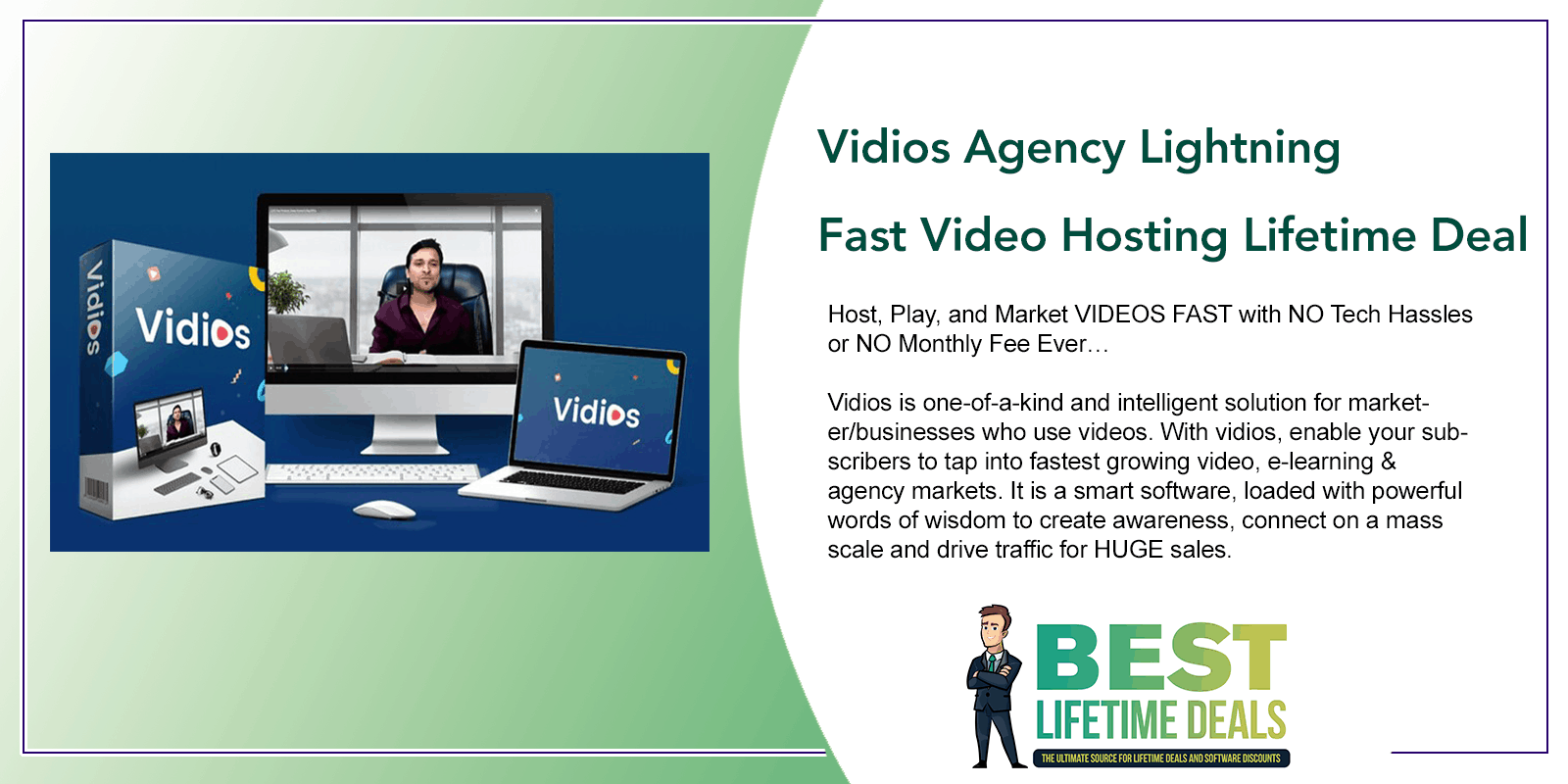 Vidios Agency Lightning Fast Video Hosting Featured Image