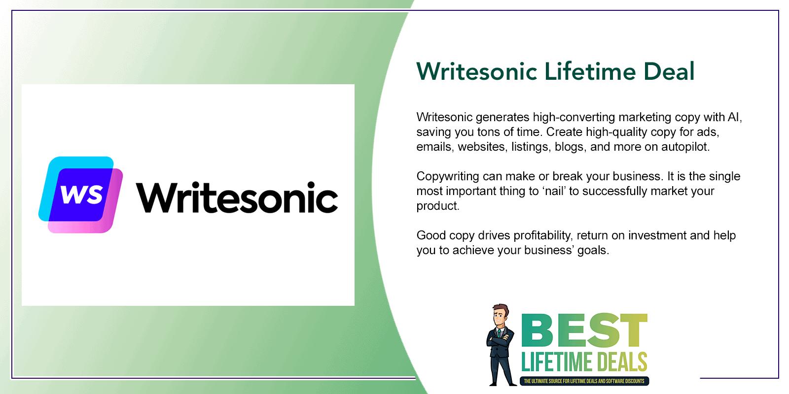 Writesonic Lifetime Deal Post Image