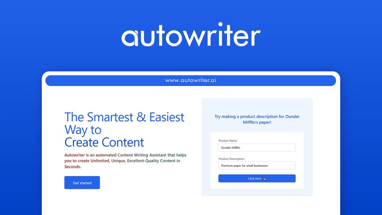 AutoWriter 1