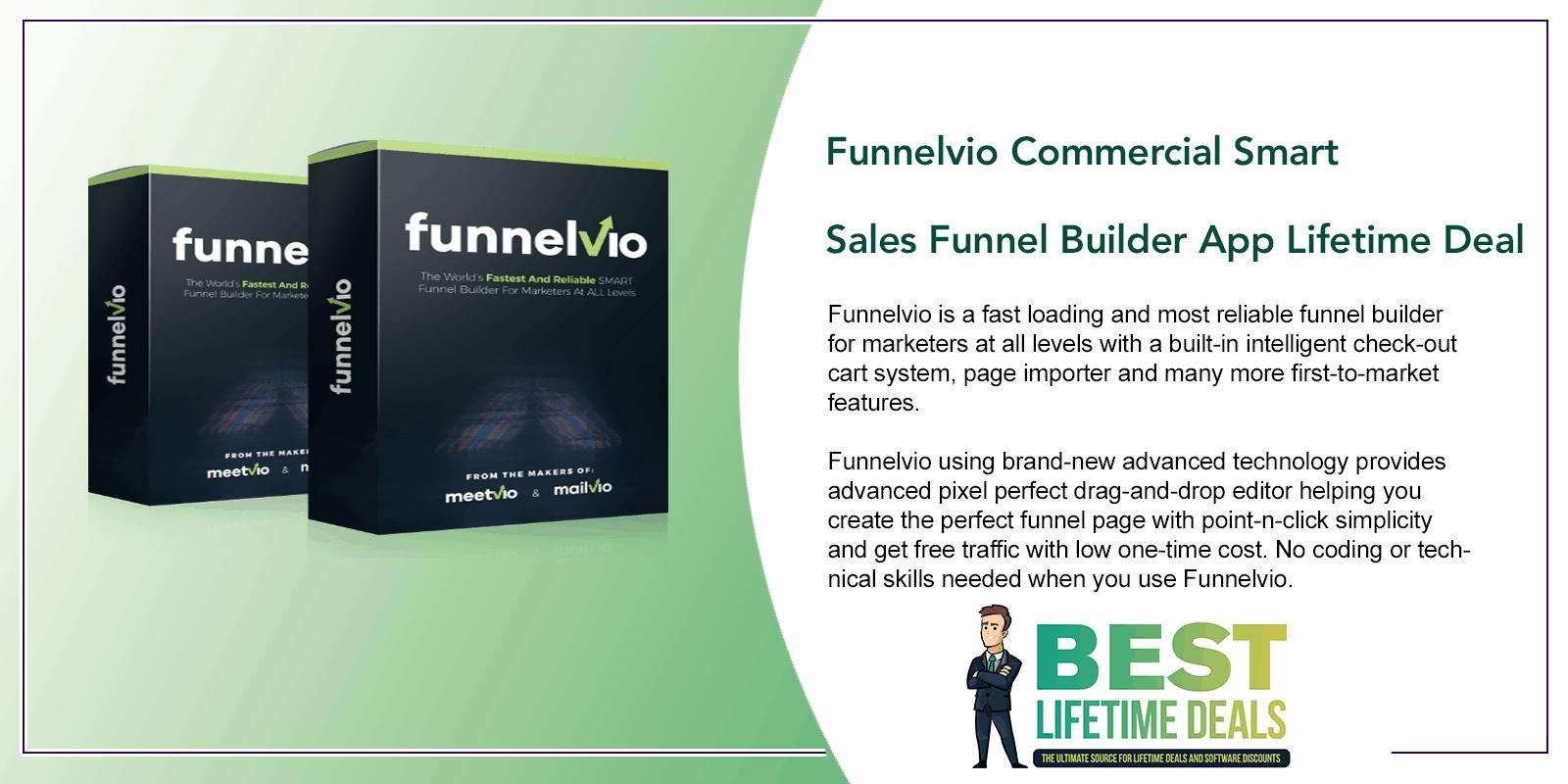 Funnelvio Commercial Smart Sales Funnel Builder App Featured Image