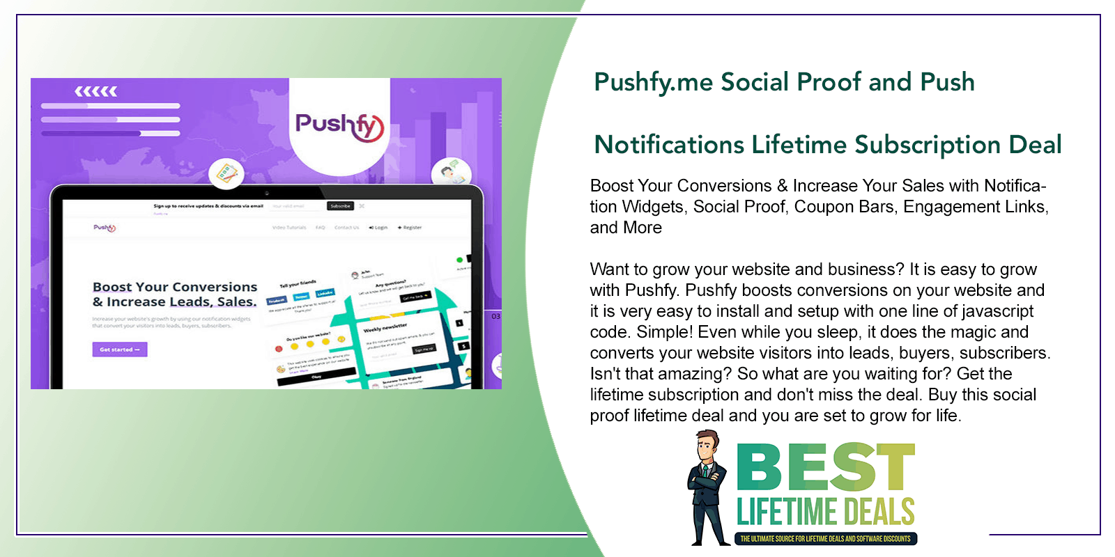 Pushfy.me Social Proof and Push Notifications Featured Image