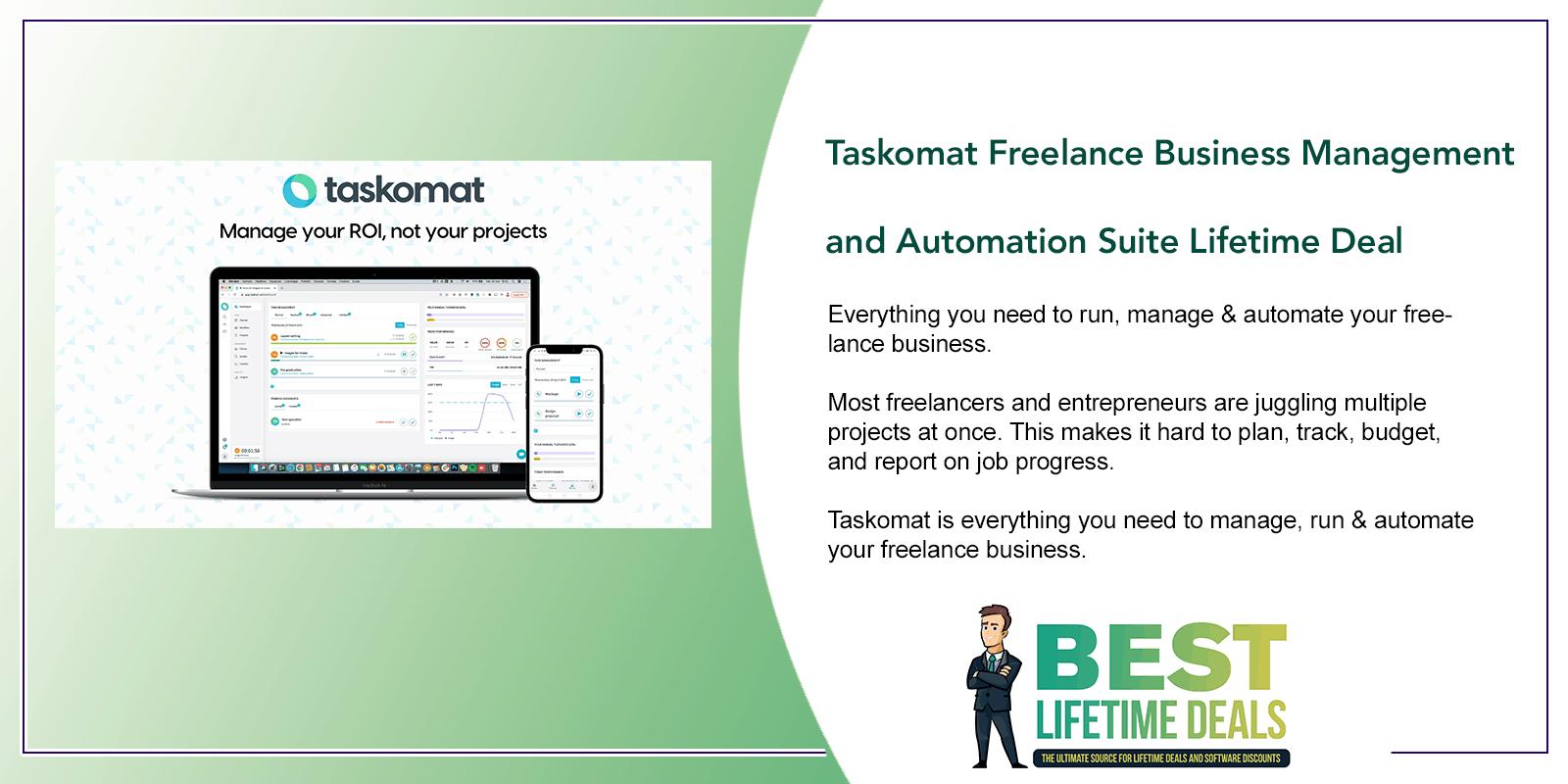 Taskomat Freelance Business Management Featured Image