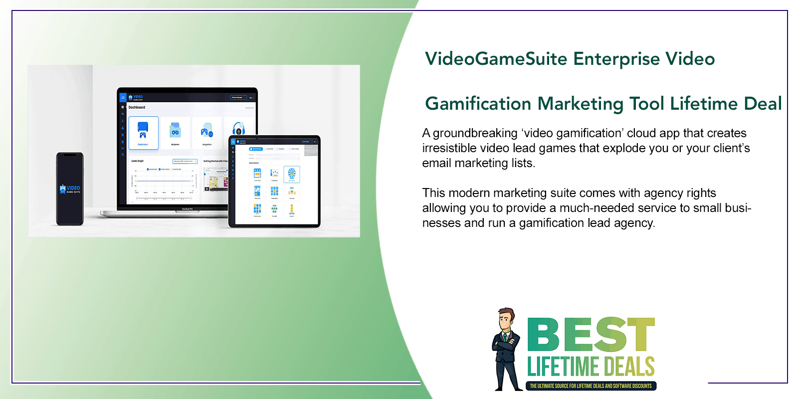 VideoGameSuite Enterprise Video Gamification Marketing Tool Featured Image