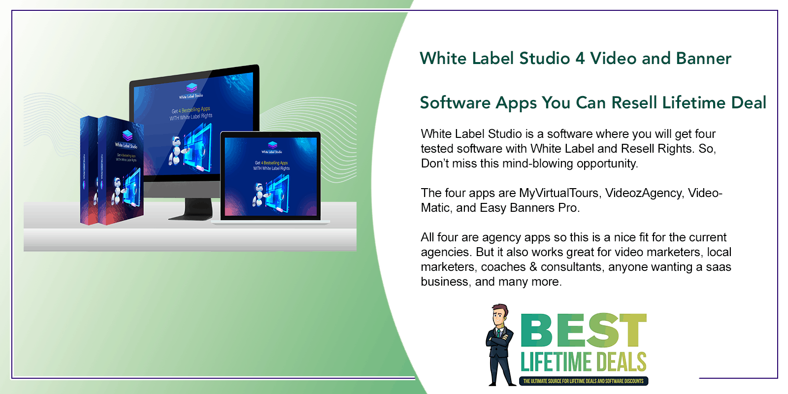 White Label Studio 4 Video and Banner Software Apps You Can Resell Featured Image