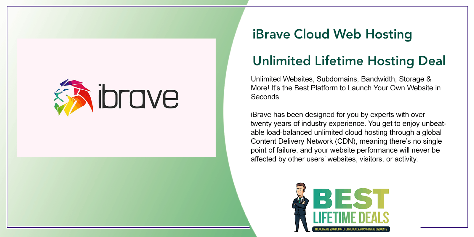 iBrave Cloud Web Hosting Featured Image
