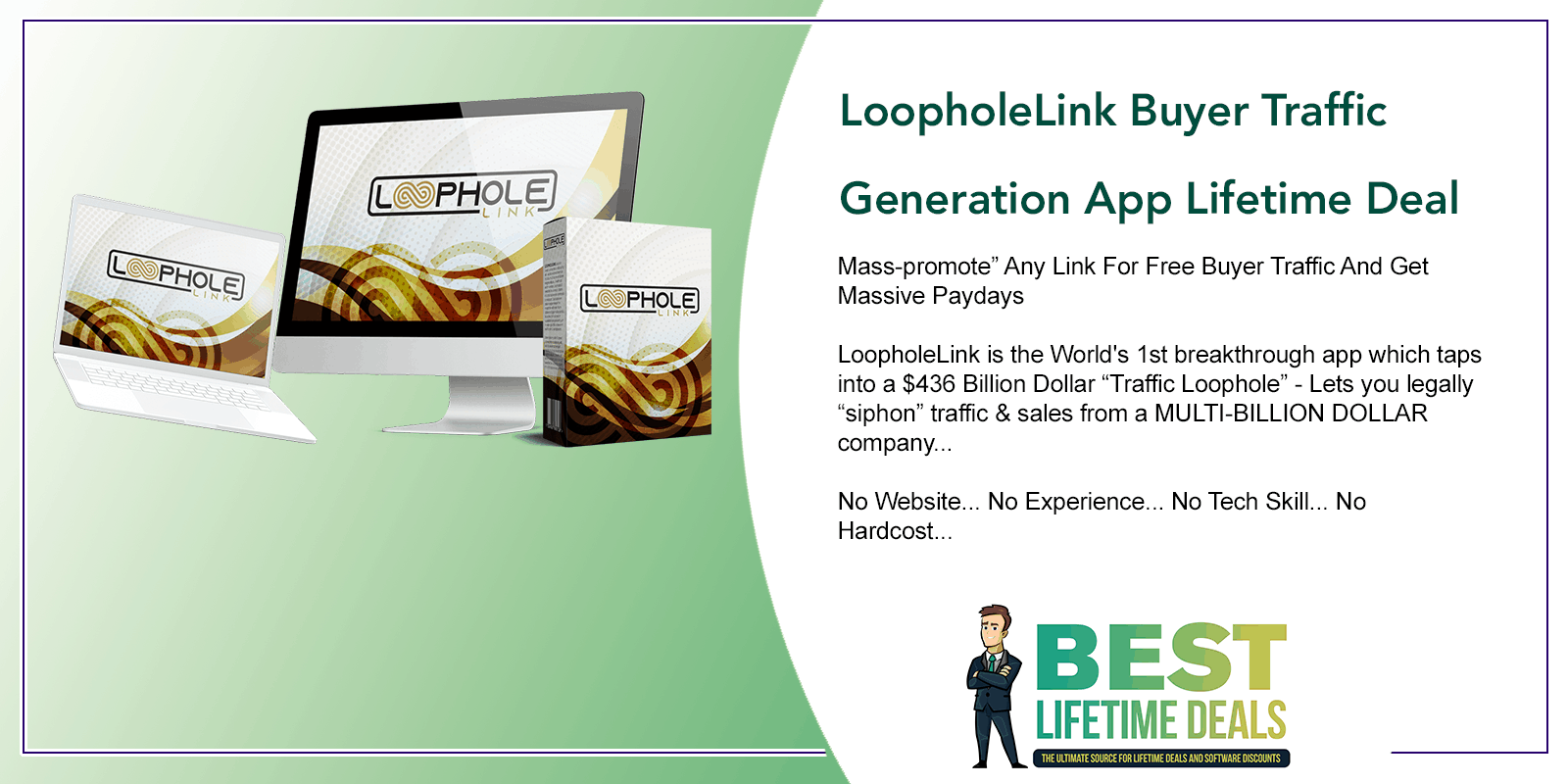 LoopholeLink Buyer Traffic Generation App Featured Image