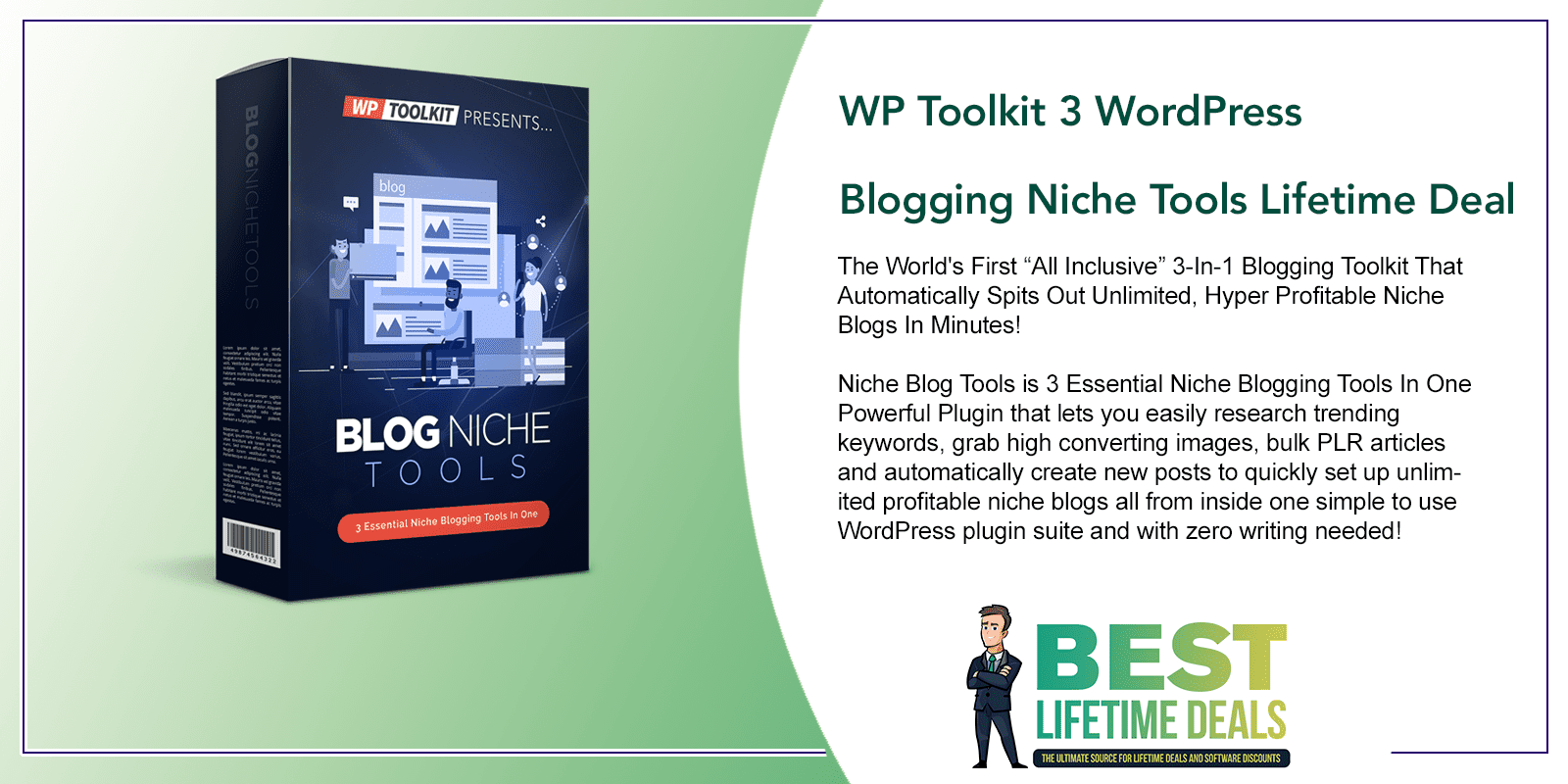 WP Toolkit 3 WordPress Blogging Niche Tools Featured Image