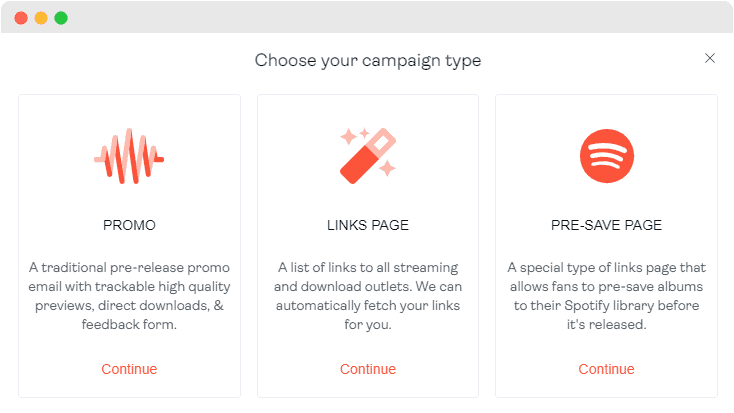 Create Your Podcast Promotion Campaign In Seconds