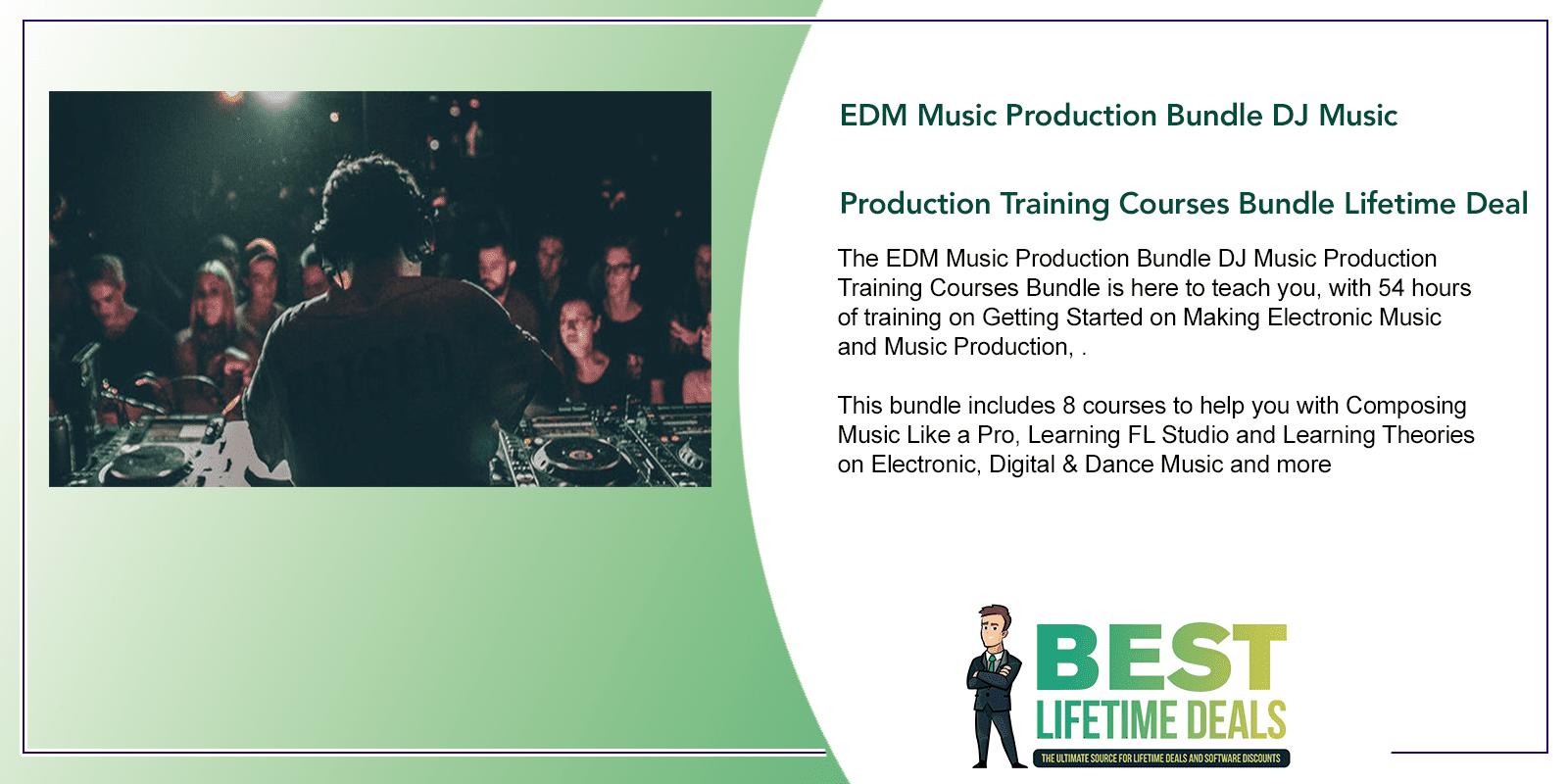 EDM Music Production Bundle DJ Music Production Training Courses Featured Image